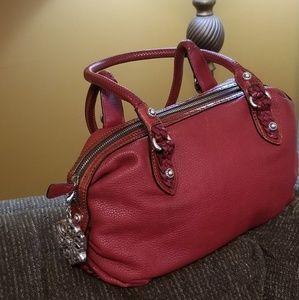 Brighton deep red handbag